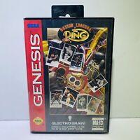 Boxing Legends of the Ring (Sega Genesis, 1993)  Cartridge & Case- Tested