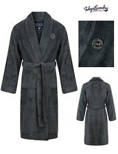 Men's Tokyo Laundry Fleece Dressing Gown Thick Soft Luxury Shawl Neck Bath Robe