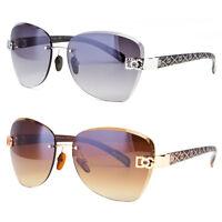 Womens Oversized DG Sunglasses Eyewear Designer Shades Fashion Black Gold Pink