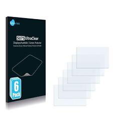 6x protector de pantalla para Panasonic Lumix dmc-g3 lámina protectora claramente protector de pantalla