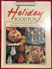 🎅🏼 HOLIDAY FOOD FUN : Creative Ideas Recipes for Halloween Christmas Cookbook