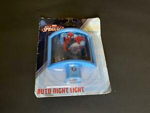 NEW Marvel Jasco Ultimate Spider Man 13377 LED/low energy Auto night light