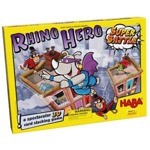 HABA 303670 - Rhino Hero Super Battle - gioco da tavolo
