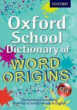 OXFORD WORD ORIGINS DICTIONARY by Oxford University Press (Paperback, 2013)