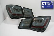 Smoked Black LED Tail Lights Holden Cruze Sedan 09-14 Taillight 4 Doors Turbo