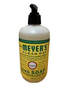 Mrs. Meyers Clean Day Liquid Hand Soap Honeysuckle Scent 12.50 oz NEW