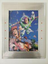 Disney's TOY STORY 1996 EXCLUSIVE Commemorative 3D Lenticular Artwork PIXAR