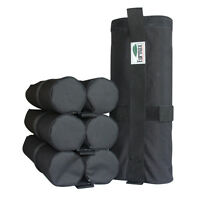 Pop Up Canopy Patio Tent Leg Weight Bag Rock/Sand/Dirt Shelter Leg Bags 4pc-pack