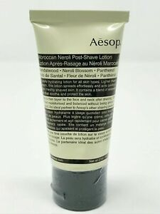 AESOP Moroccan Neroli Post-Shave Lotion 60ml - NEW Sealed Tube