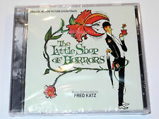 Fred Katz THE LITTLE SHOP OF HORRORS Soundtrack Limited Edition CD New & Sealed