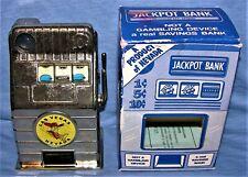 Vintage Jack Pot Las Vegas Nevada 10 Cent Slot Machine/ Bank