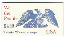 Scott # 2355/9...22 Cent...We The People... Booklet   of 20...BK #162