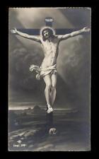 """santino-holy card """"ediz.NB n.372 GESU' CROCIFISSO"""