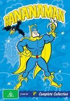 Bananaman - Complete Collection (DVD, 2010, 3-Disc Set) - Region 4