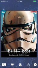 Topps Star Wars Digital Card Trader Stormtrooper/Obi-Wan Reflections 2 Insert