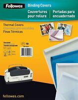 Fellowes Thermal Binding Presentation Covers, 10 52220