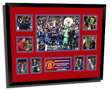 MANCHESTER UNITED FC 2017 EUROPA CUP SIGNED LIMITED EDITION FRAMED MEMORABILIA