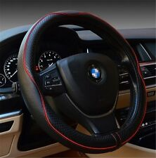 Car interior accessories leather steering wheel covers 14.5-15 inches (M)