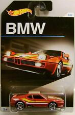 BMW M1 RED 1/8 BMW SERIES HOT WHEELS HW DIECAST 2016