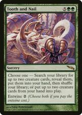 MTG - Dent et Ongle NM- French Mirrodin Tooth and Nail