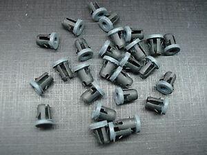 25 pcs 1/8 x 3/16 emblem script name plate tubular barrel nuts with sealer Ford