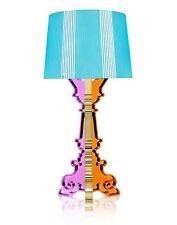 Kartell Bourgie 9072 Ferruccio Laviani vielfarbig hellblau Tischleuchte