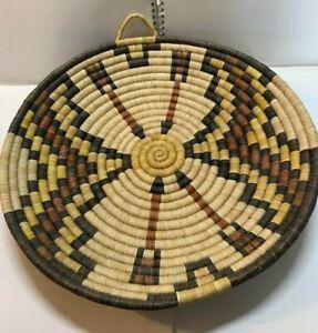 Antique or Vintage Native American Woven Wedding Basket