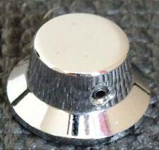 FARIDA GNA80 CONTROL KNOB. METAL & CHROMED. EXCELLENT. UK DISPATCH