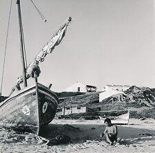 ALBUFEIRA c. 1960 - Station de Pêcheurs  Bateaux  Portugal - Div 6367
