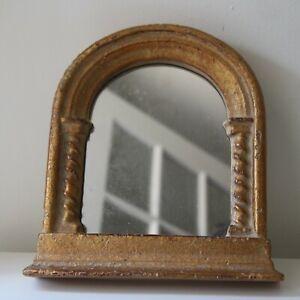 R. M. Robert Kulicke Collection Gothic Arch Spiral Columns Mirror Frame