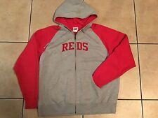 Majestic Cincinnati Reds Full Zip Hoodie Jacket  Men's Size: XL