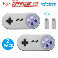 2.4GHZ USB Wireless Controller Gamepad For Super Nintendo NES SNES Classic Mini