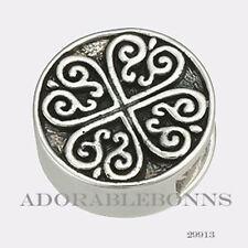 Authentic Lori Bonn Silver Queen of Hearts Bonn Bons Slice Charm 29913
