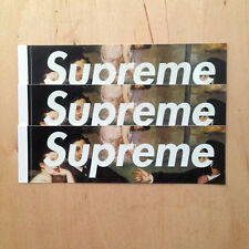 Supreme Le Bain box logo skateboard sticker vinyl Manet decal bumper