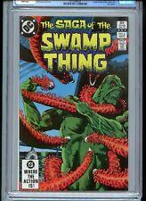 Swamp Thing #6 1982 CGC 9.8 White Pages Phantom Stranger