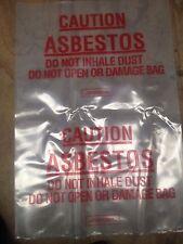 Asbestos Bags 600 x 900mm - Printed - Pkt/100 bags