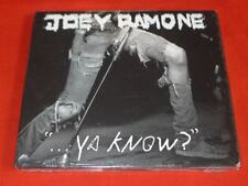 ...Ya Know? [Digipak] by Joey Ramone (CD, May-2012, Relativity (Label))