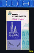 Heat Engines -Thermodynamics in Theory and Practice by Sandfort - Paperback