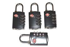 4 Black SKB 4 dial resettable combination TSA Case Luggage Travel Lock