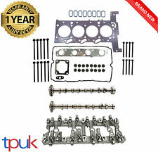 FORD TRANSIT MK7 2.2 CYLINDER HEAD REBUILD SET 2006 ON FWD + CAMS ROCKER CARRIER