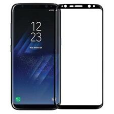 3D Edge to Edge Black Color 9H Curved Tempered Glass For Samsung Galaxy S8