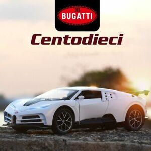 1:32 Bugatti Centodieci Alloy Car Collectibles Model Anniversary Edition Toys