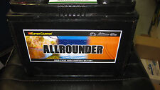 ALLROUNDER DEEP CYCLE & STARTING BATTERY 80amp hour MRV50 12v  SUPER CHARGE