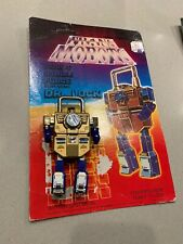 1980's Four Star Trans Mobots Dr. LOCK MAN Vintage Transformers padlock Carded
