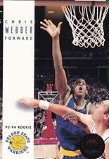 Rookie Chris Webber NBA Basketball Trading Cards