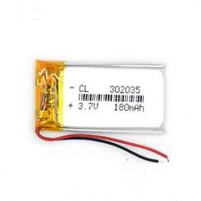 3.7V 180 mAh Rechargeable Battery 302035 Li-Polymer Li Po for GPS Bluetooth MP3
