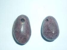cristalloterapia PENDENTE PIETRA NATURALE TORMALINA ROSSA A+ ciondolo talismano