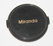 Miranda - 58mm Snap-on Lens Cap