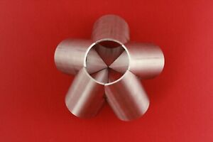 5-1 Manifold Header Merge Collector Stainless 45.0 mm dia 3 mm wall thickness