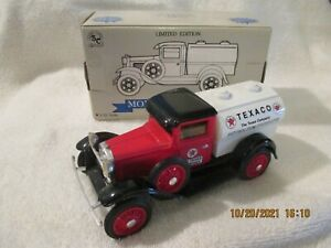 Texaco Petroleum Products Ford Model A   Coin Bank  Liberty Classics with box